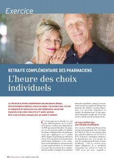 Réforme de la retraite complémentaire des pharmaciens