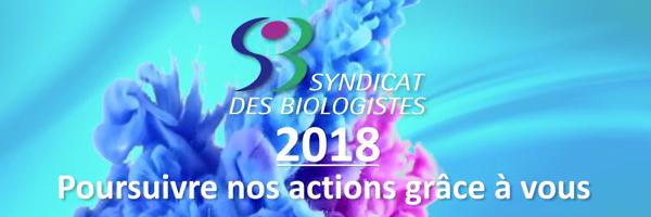 Adhérez au SDB en 2018